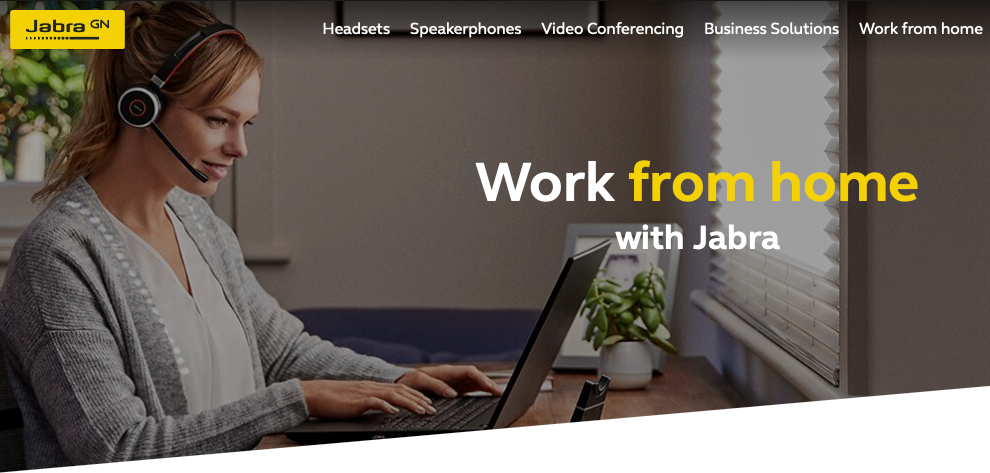 Work from Home Jabra